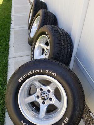 """Rare 15"""" Progressive Wheels & BF Goodrich Tires for Sale in Chicago, IL"""