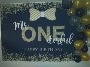 1st Birthday Banner for Sale in Visalia, CA
