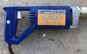 Chicago Electric Power Tools 34923 - 3/4 HP Concrete Vibrator - GOOD CONDITION for Sale in Orlando, FL