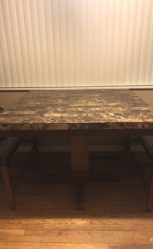 Marble Dining Room Table for Sale in Portland, OR
