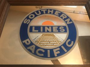 Southern Pacific Lines Mirror for Sale in Houston, TX