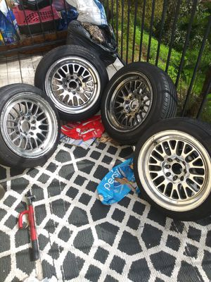 Fairly New Tires And Rims 1995-2000 Hondas or Acuras for Sale in La Mesa, CA