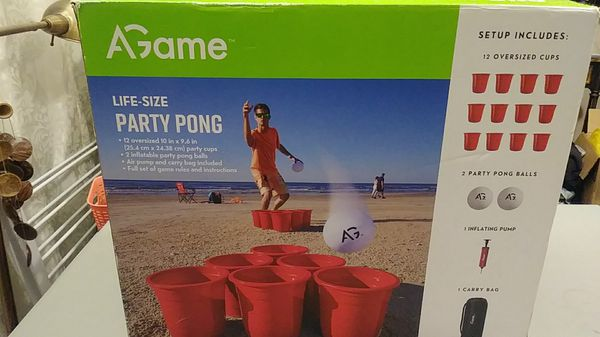 Agame Life-Size Party Pong.