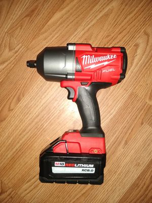 Milwakee 1/2 Impact wrench with Battery 8.0 for Sale in Kernersville, NC