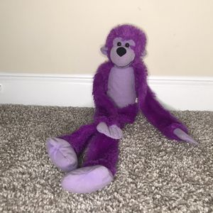 Purple Stuffed Monkey for Sale in Lilburn, GA