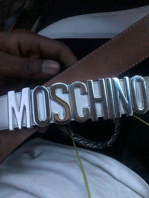 Moschino belt for Sale in Detroit, MI