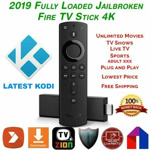Fire Tv Stick 4th Gen (4K) HDR With New Design Alexa Remote for Sale in Chicago, IL