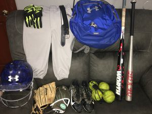 Softball equipment for Sale in San Bernardino, CA