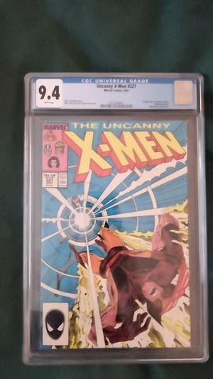 Uncanny X-Men #221 9.4 CGC for Sale in Seattle, WA