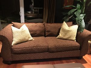 Sofa and matching oversized chair for Sale in Silver Spring, MD