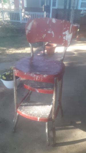 Antique old metal metal chair from 1960's for Sale in Baltimore, MD