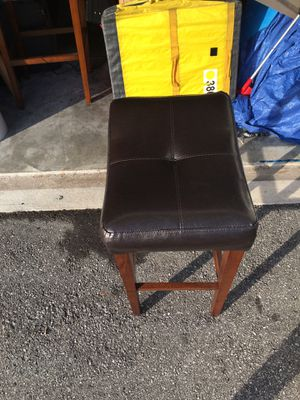 Wooden chair stool for Sale in Orlando, FL