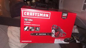 Craftsman 18 inch Never used Chainsaw for Sale in Darrington, WA