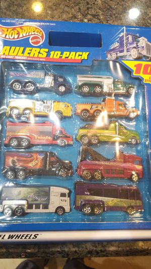 Hot wheels 10-pack haulers for Sale in Wellington, FL