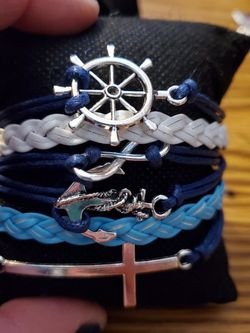Cross Blue Bracelet for Sale in Wenatchee,  WA
