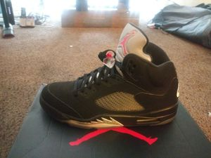 Jordan 5 metallic size 13 for Sale in Cuyahoga Heights, OH