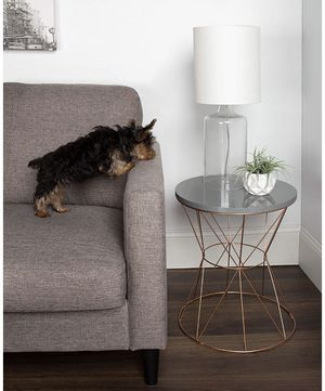 Round Metal End Table for Sale in New York, NY