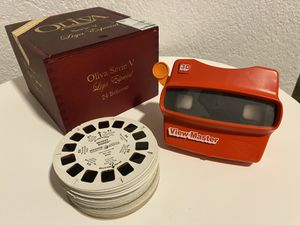 Vintage Viewmaster with 49 Reels for Sale in Miami, FL