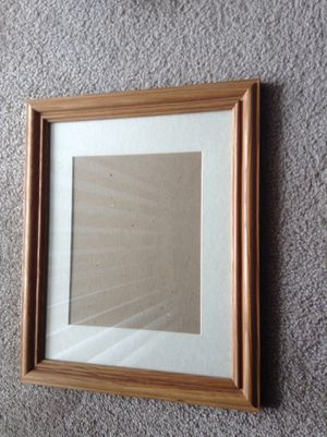 """Nice! Elegant! Real Wood Frame 13.5"""" x 16.5"""", Photo size 7.5"""" x 9.5"""", set of 6, asking $19 each for Sale in Gaithersburg, MD"""
