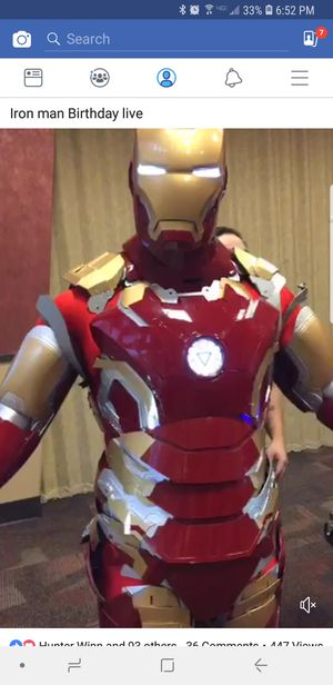 Iron Man Suit for Sale in Fort Belvoir, VA
