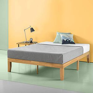 New In Box! Zinus Moiz 14 Inch Wood Platform Bed / Natural Finish, Full Size for Sale in Mason, OH