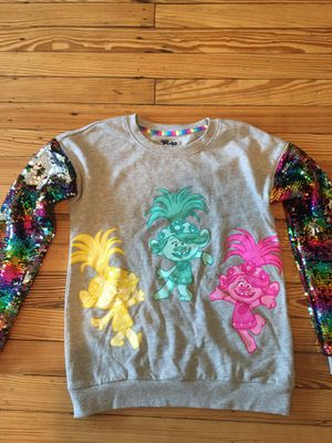 Girls Trolls Sweatshirt for Sale in Secaucus, NJ