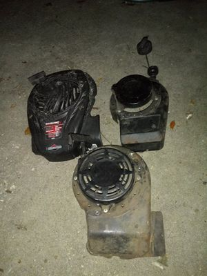 3 lawn mower top pieces with pull start for Sale in Spring Hill, FL
