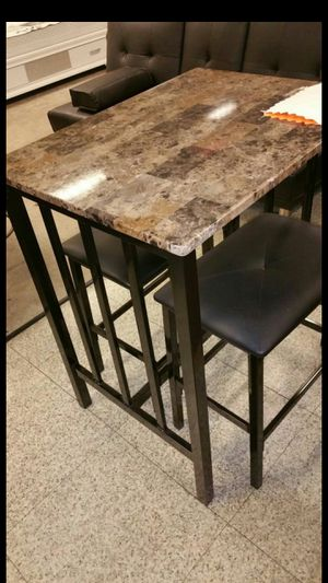 Small pub table with two stools for Sale in Edgewood, MD