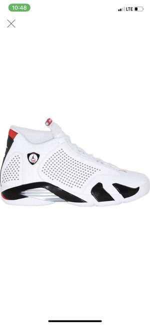 Supreme White Jordan Retro 14's for Sale in Brockton, MA