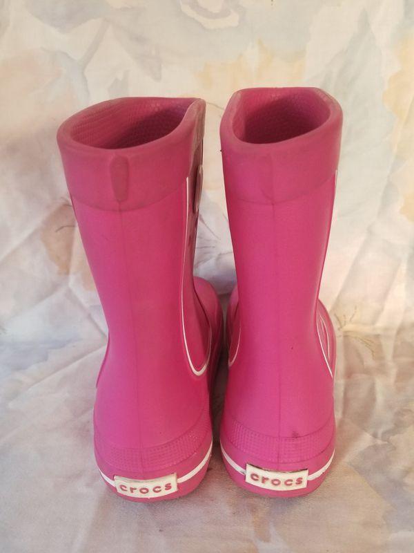Crocs rain boots junior 1M