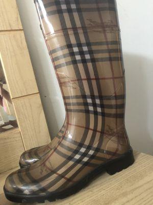 Rain boots size 38 for Sale in Atlanta, GA