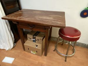 Butcher block table for Sale in Los Angeles, CA