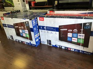 TCL Roku 65 inch 4K TV party for Sale in Los Angeles, CA