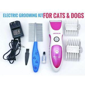Resun Pro-Cut For Pets+ Rechargeable Cordless Dog and Cat Groomer Kit, Dog Trimmer, Dog Groomer, Pet Groomer, pet clippers for Sale in Ontario, CA
