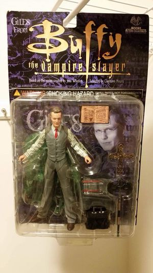 Buffy the Vampire Slayer TV Series Giles Action Figure for Sale in Fairview Heights, IL