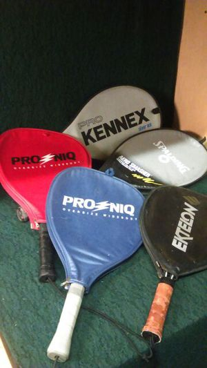 Mixed Lot of 5 Rackets for Sale in Richmond, VA