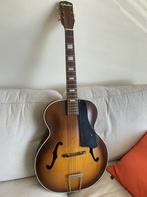 Early 60s Silvertone 612 Archtop Acoustic Guitar for Sale in Bethesda, MD