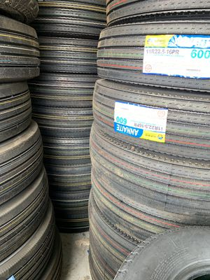 Semi truck/ trailer tires for sale and mobile installation for Sale in Las Vegas, NV