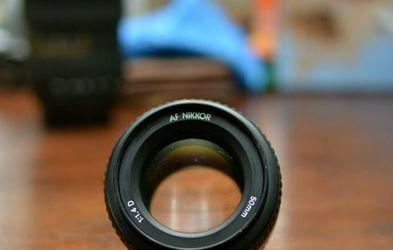 Nikon 50mm F1.4D Prime Lens. for Sale in Renton,  WA
