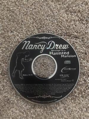 Nancy drew PC game for Sale in Rancho Cordova, CA