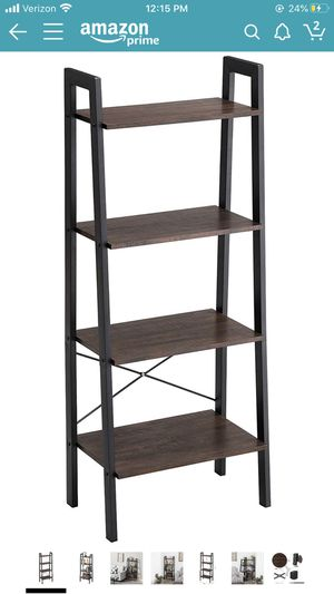 Vasagle 4 Tier Ladder Shelf (a set of 2) for Sale in Los Angeles, CA