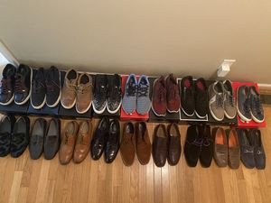 Men's shoes (sneakers and dress shoes) - sizes 11 and 11.5, any 3 pairs for $50 for Sale in Fayetteville, NC