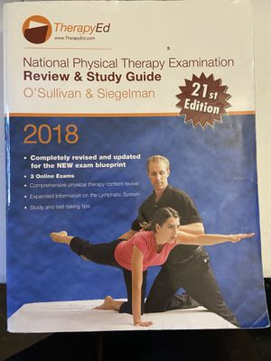 Therapyed 2018 with online access to 3 exams for Sale in Carrollton, TX