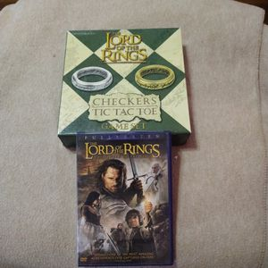 Lord Of The Rings Movie + Board Games for Sale in Oklahoma City, OK