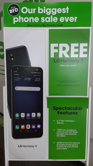 Free LG harmony 3 for Sale in San Angelo, TX