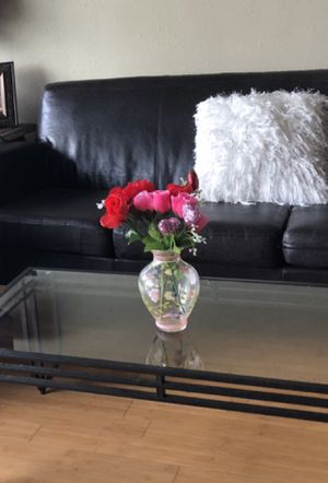 Decorative hand painted Flower Vase for Sale in Seattle, WA
