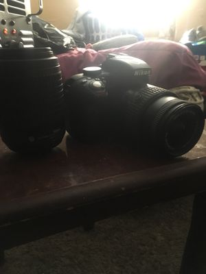 Nikon D3300 Comes with two lenses 18-55 And 55-200 Mm for Sale in Montgomery, AL