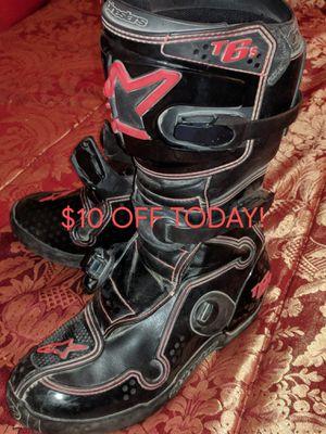 Women's Sz 8 Alpine Star TECH 6 Motocross Boots for Sale in Perris, CA