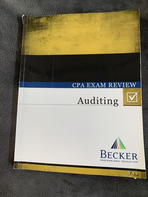 Becker Audit v 1.1 with flash cards for Sale in Costa Mesa, CA