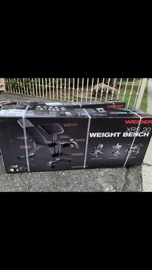 Xrs20 weight bench for Sale in Norwalk, CA
